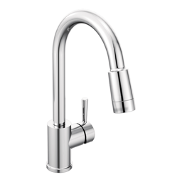 Picture of CFG EDGESTONE ONE HANDLE PULLDOWN FAUCET -CHROME