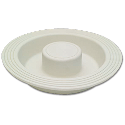 Picture of RUBBER GARBAGE DISPOSAL STOPPER - WHITE