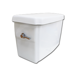 Picture of NIAGARA FLAPPERLESS 1.2 GPF WHITE TOILET TANK