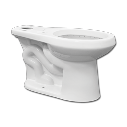 Picture of NIAGARA FLAPPERLESS WHITE TOILET BOWL