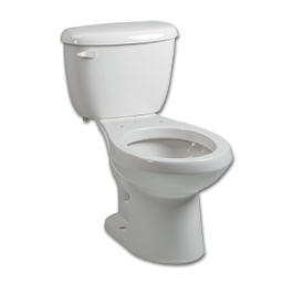 Picture of BRIGGS WHITE TOILET TANK & BOWL SET - 1.6 GALLON ** KIT **