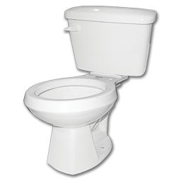 Picture of MANSFIELD ALTO WHITE TOILET TANK & BOWL SET - 1.6 GALLON ** KIT **