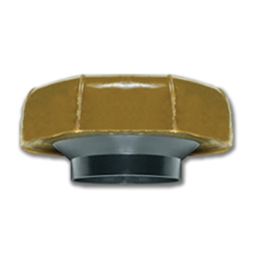 """Picture of FLUIDMASTER 4"""" JUMBO WAX BOWL RING W/FLANGE"""