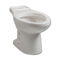 Picture of BRIGGS WHITE ELONGATED TOILET BOWL