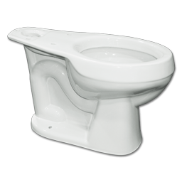 Picture of MANSFIELD ALTO 1.28 or 1.6 GPF RF TOILET BOWL - WHITE