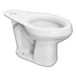 Picture of MANSFIELD ALTO 1.28 or 1.6 GPF ADA TOILET BOWL - WHITE