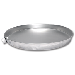 "Picture of 24"" ALUMINUM WATER HEATER DRAIN PAN"