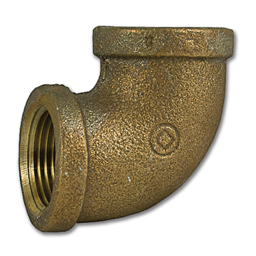 "Picture of 3/4"" FIP X 3/4"" FIP BRASS ELBOW PIPE FITTING"