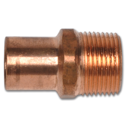 "Picture of 3/4""FTG X 3/4""MIP COPPER ADAPTER"
