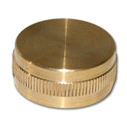 "Picture of 3/4"" BRASS HOSE CAP"