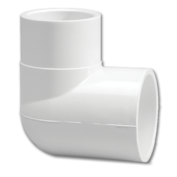 "Picture of 1/2"" PVC ELBOW 90°"