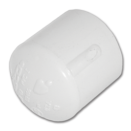 "Picture of 3/4"" PVC SLIP CAP"