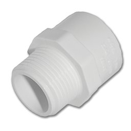 "Picture of 1/2"" PVC MALE ADAPTER"