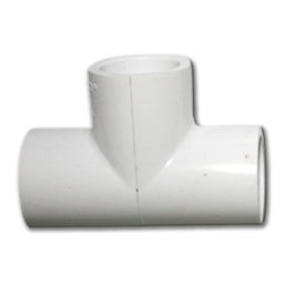 "Picture of 1/2"" PVC TEE"