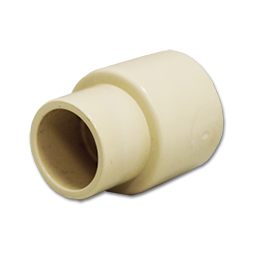 "Picture of 1/2"" X 3/4"" CPVC SLIP X SLIP REDUCER COUPLING"