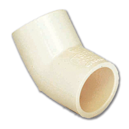 "Picture of 1/2"" CPVC SLIP X SLIP 45° ELBOW"