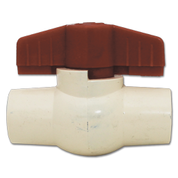 "Picture of 1/2"" CPVC BALL VALVE"