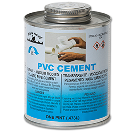 Picture of PVC CLEAR REGULAR CEMENT - 16 OZ