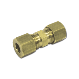 "Picture of 1/2"" BRASS COMPRESSION UNION"