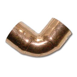 "Picture of 5/8""OD (1/2""ID) COPPER ELBOW - SHORT RADIUS"