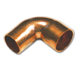 "Picture of 3/4"" ID WROT 90° COPPER STREET ELBOW"