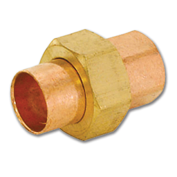 "Picture of 3/4"" ID WROT COPPER SWEAT UNION"