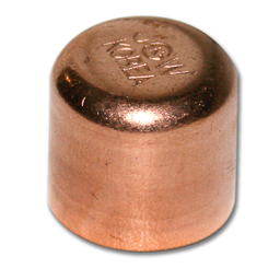 "Picture of 3/4"" ID WROT COPPER CAP"