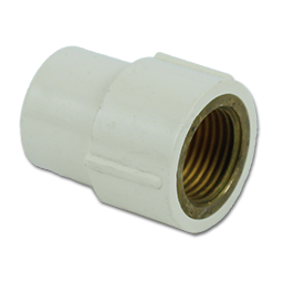 """Picture of 3/4"""" CPVC SLIP X BRASS 1/2"""" FIP FEMALE ADAPTER"""