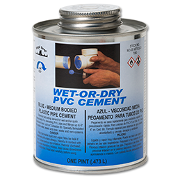 Picture of WET N' DRY PVC BLUE CEMENT - PINT