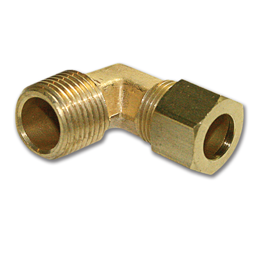 "Picture of 3/8""COMP X 3/8""MIP BRASS MALE ELBOW"