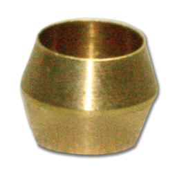 "Picture of 1/4"" BRASS COMPRESSION SLEEVE"