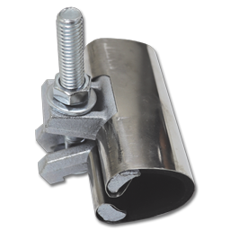 "Picture of 1-1/4"" STAINLESS STEEL PIPE REPAIR CLAMP"
