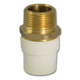 "Picture of 1/2"" CPVC X BRASS TRANSITION MALE ADAPTER"
