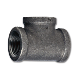 "Picture of 1/2"" TEE - BLACK PIPE"