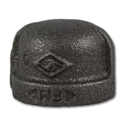 "Picture of 1/2"" CAP - BLACK PIPE"