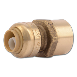 """Picture of SHARKBITE 3/8"""" X 1/2"""" FNT CONNECTOR"""