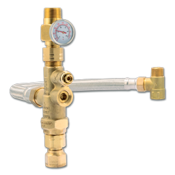 "Picture of CASH ACME® HEATGUARD® TANK BOOSTER THERMOSTATIC 3/4"" MIXING VALVE"