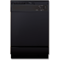 Picture of HOTPOINT DISHWASHER 5-CYCLE - BLACK - HDA2100HBB