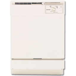 Picture of HOTPOINT DISHWASHER 5-CYCLE - BISQUE - HDA2100HCC