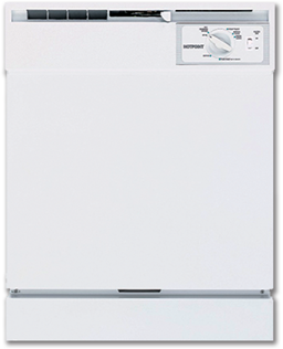 Picture of HOTPOINT DISHWASHER 5-CYCLE - WHITE - HDA2100HWW