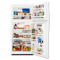 Picture of WHIRLPOOL® ENERGY STAR® 18 CU FT REFRIGERATOR - WHITE