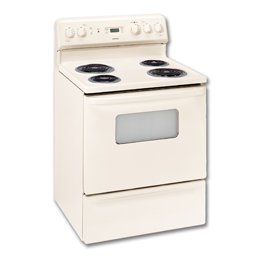 "Picture of HOTPOINT® 30"" ELECTRIC RANGE - BISQUE"