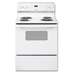 "Picture of HOTPOINT 30"" ELECTRIC RANGE - WHITE - RB526DHWW"
