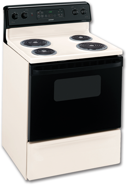 "Picture of HOTPOINT® 30"" ELECTRIC SELF-CLEAN RANGE - BISQUE"