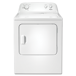 Picture of WHIRLPOOL ELECTRIC DRYER - WHITE - WED4815EW