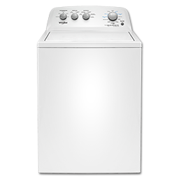 Picture of WHIRLPOOL WASHER - WHITE - WTW4816FW