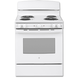 """Picture of GE® ADA 30"""" ELECTRIC RANGE - WHITE"""