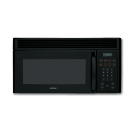 Picture of HOTPOINT OVER-THE-RANGE MICROWAVE - BLACK RVM5160DHBB
