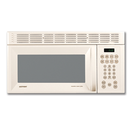 Picture of HOTPOINT® 1.6 CU FT OVER-THE-RANGE MICROWAVE - BISQUE