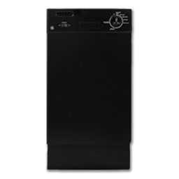 "Picture of GE® 18"" SPACEMAKER DISHWASHER - BLACK"